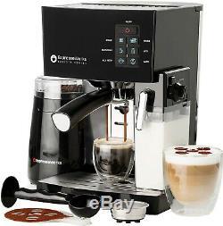 3 in 1 Espresso Coffee Machine Cappuccino Maker 19-Bar Grinder Accessories Set