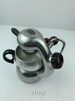 ATOMIC Coffee Cappuccino Maker Machine BREVETTI ROBBIATI Milano 1940s Rare