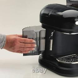 Ariete 1318B Moderna Espresso Machine, Barista Style Coffee Maker Black