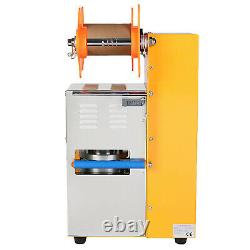 Automatic Cup Sealer Sealing Machine 400-600 Cup/hr Boba Coffee Bubble Tea
