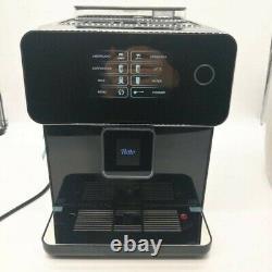 Automatic espresso coffee machine touch screen