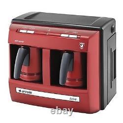 Beko Arcelik Lal TURKISH COFFEE MACHINE COFFEE MAKER AUTOMATIC RED K3190P