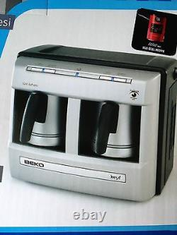 Beko BKK 2113P AUTOMATIC TURKISH COFFEE ESPRESSO MAKER MACHINE 2 CUPS Arcelik