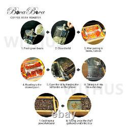 BocaBoca Coffee Bean Roaster 500 Roasting Machine Nuts Barista Home 110V / 220V
