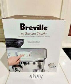 Breville -BES880BSS -The Barista Touch Espresso Coffee Machine AU Stock