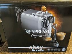 Breville Nespresso Creatista Plus Coffee Machine Stainless Steel (BNE800BSS)