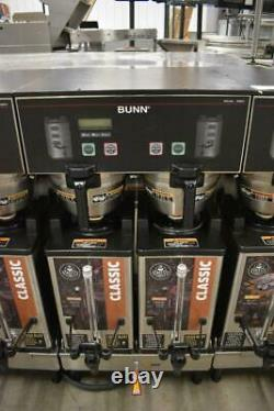 Bunn Commercial Dual SH DBC Double Coffee Machine with Hot Water WORKS GREAT