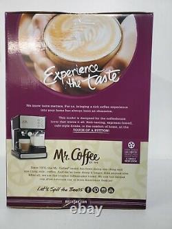 Coffee Maker Machine Mr. Coffee Espresso and Cappuccino Maker Café Barista