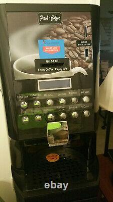 Commercial Business Break Room Hot Coffee Drink Vending Machine