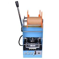 Commercial Manual 270W Cup Sealing Machine Sealer Boba Bubble Tea Coffee Party