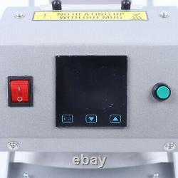 Cup Heat Press Machine Transfer Sublimation for DIY 11oz 12OZ 17OZ Coffee Mug US