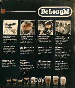 De'Longhi BCO430 Combination Espresso and Coffee Machine Black/Silver