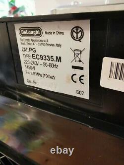 De'Longhi EC9335. M La Specialista Bean to Cup Coffee Machine Silver