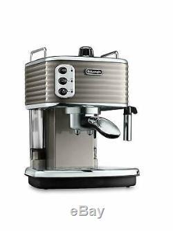 De'Longhi ECZ351BK Scultura 1100W Traditional Pump Ground & Pods Coffee Machine