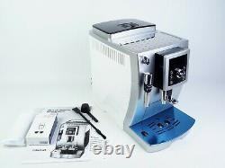 DeLonghi ECAM23.420. SW Bean to Cup Coffee Machine SILVER RRP £800