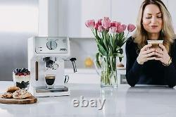 DeLonghi ECP3220W 15 Bar Espresso Machine with Advanced Cappuccino System New