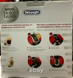 Delonghi NESCAFE Dolce Gusto Automatic Capsule Coffee Machine EDG605R