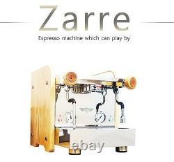 ELROCIO Espresso Coffee Machine ZARRE Mordern Stainless Design ART Of Barista