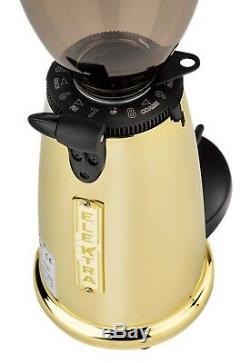 Elektra Micro Casa Leva Manual Machine & Grinder MSDO Golden Espresso Set 110V