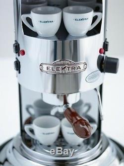 Elektra Mini Verticale A1 Espresso Coffee & Cappuccino Maker Machine Chrome 220V