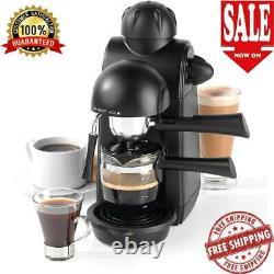Espresso Cappuccino Machine Latte Cup Coffee Machine Milk Frother Steamer