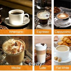 Espresso Machine 20 Bar Coffee Machine With Foaming Milk Frother Wand/1300W