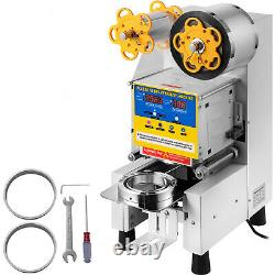 Fully-automatic Coffee Boba Bubble Tea Cup Sealer Electric Sealing Machine 450W