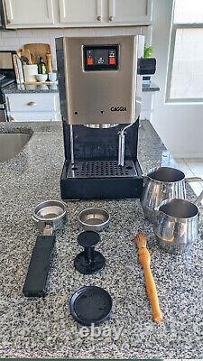 Gaggia Classic Coffee Pump-Driven Espresso/Cappuccino Machine TESTED & WORKING