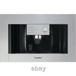 Hotpoint CM5038 IX H Built-in Coffee Machine Stainless Steel