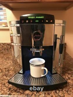 JURA CAPRESSO Impressa F9 Super Automatic Coffee Espresso Machine Chrome