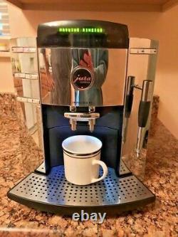 JURA CAPRESSO Impressa F9 Super Automatic Coffee Espresso Machine Chrome Black