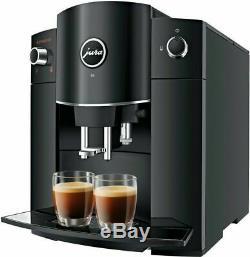 JURA D6 Piano Black coffee machine