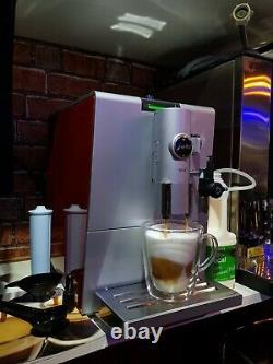 JURA ENA 7 Bean to cup COFFEE MACHINE CHERRY CAPPUCCINO