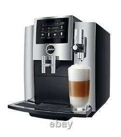 JURA S8 Chrome Automatic Coffee Machine. Model # 15212