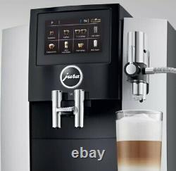 JURA S8 Coffee Machine Brand New In Box (Chrome)