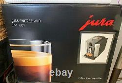 Jura E6 Automatic Coffee Machine Piano Black New in box