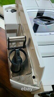 Jura E8 Automatic Coffee and Espresso Machine, Piano White - Slightly Used
