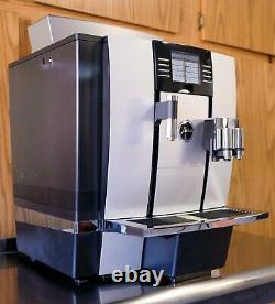 Jura GIGA W3 Professional Automatic Coffee Machine, Silver