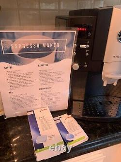 Jura Impressa E8 Coffee & Espresso Machine/grinder/frother + Accessories