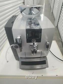 Jura Impressa XJ9 Automatic Coffee Machine with Touchscreen Silver