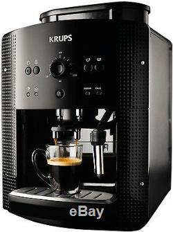 Krups EA 8108 fully automatic cappuccino Espresso coffee machine BLACK