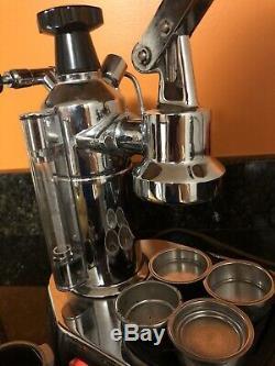 La Pavoni Europiccola Espresso Machine Coffee Maker Cappuccino Machine Dining Ba