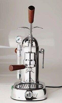 La Pavoni GRL Gran Romantica Manual Espresso Coffee Machine & Naked Portafilter