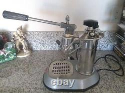 La Pavoni europiccola coffee lever espresso machine year 1964 grey base