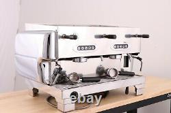 La San Marco 80E 2 Group Commercial Espresso Coffee Machine (Chrome)