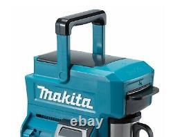 Makita DCM501 10.8v / 18v CXT LXT Cordless Coffee Maker Machine + 18v Battery