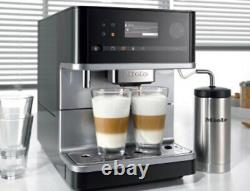 Miele CM6350 Black Countertop Coffee Machine Barely used- With Milk