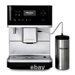 Miele CM6350 Coffee Machine with OneTouch for Two Black Certified Refurbished