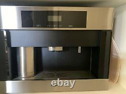 Miele CVA 4062 Non Plumbed Built-in Coffee Machine Basically New