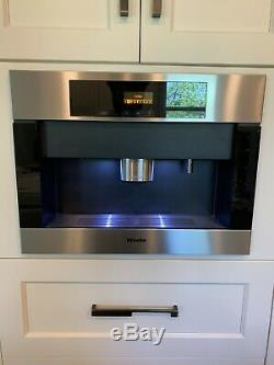 Miele CVA 4066, PLUMBED 24 Built-in Whole Coffee Bean Machine, Stainless Steel